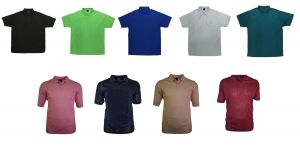 Perfect Fashion's Mens Ligh Weight Mesh/Sports Polo Shirt