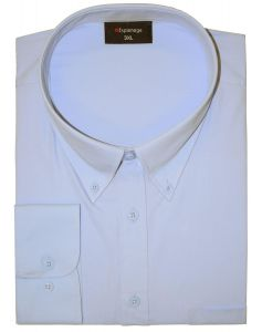Espionage Big Size Mens Cotton Rich Long Sleeve Plain Shirt (150)