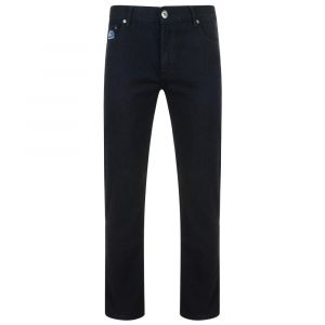 Kam Regular Fit Stretch Jeans (Kbs10106), Black Colour in Size 40 to 64 Inches