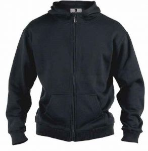 Rockford Mens Poly Cotton Fleece Zip Hooded Jacket in Size 1XL to 8XL, 3 Colour Options