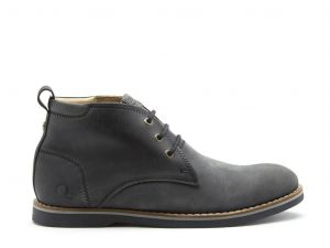 Chatham Mens Aplin Chukka Boots (Aplin) in Waxed Black