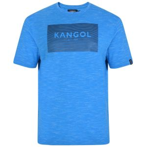 KANGOL Mens Big Size Cotton Rich Crew Neck Printed Tee Shirt (Orson)