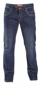 Mens Extra Tall D555 Tapered Leg Stretch Jeans (Brave) in Waist 32 to 50 Inches,L38