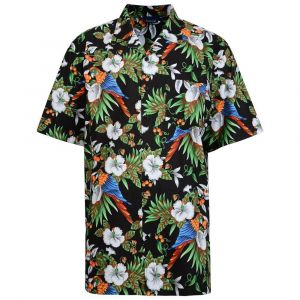 Espionage Mens Short Sleeved Hawaiian Print Shirt (262)