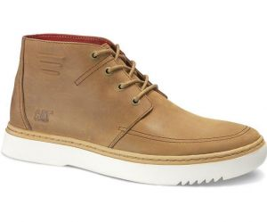 CAT Mens Wide Fit Sixpoint Smart high Collar Sneaker in Dachshund