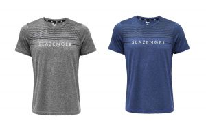 Slazenger Mens Active Performance Tee Shirt (Carey)