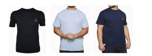 North 564 Pure Premium Cotton Printed Tee (71134) in Size XL to 8XL, 3 Color Options