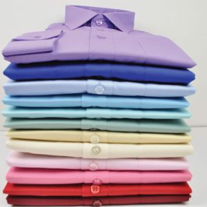 Rael Brook Mens Formal Long Sleeved Shirts, Multiple Colour Options