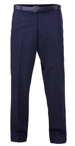 Dura Press Mens Poly Viscose Formal Trousers in Navy