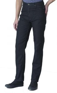 Rockford Comfort Fit Stretch Jeans (Carlos) in Black