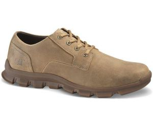 CAT Mens Wide Fit Intent Low Top Shoes in Coffee Bean Brown