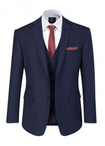 SKOPES Kennedy Royal Blue 3 Piece Suit Bundle