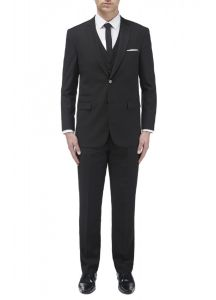 SKOPES Madrid Black 3 Piece Suit Bundle