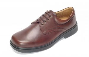 Men'S Casual Shoes (Shannon)6V Wide Fit By Db Shoes in Brown