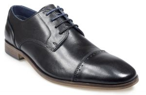 Pod Mens Lace up shoe (Regus) in Black
