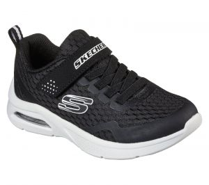 Skechers Microspec Max Sports Shoe Childrens Sports in Black