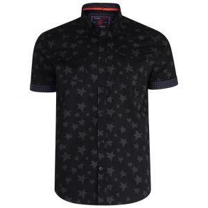 KAM Men's Big Size Star Print Shirt (6171)
