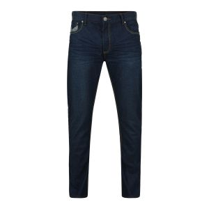 "KAM DARK WASHED MENS COATED FASHION JEANS (FRANCO) IN WAIST SIZE 40 TO 60"" & INSIDELEG 30/32/34"