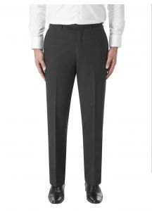 SKOPES Wool Rich Darwin Charcoal Formal Suit Trouser
