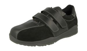 Men'S Casual Shoes (Stephen)6V Wide Fit By Db Shoes in Black