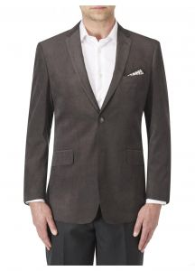 SKOPES Mens Soft Touch Tailored Sports Jacket in Smoke Color in Chest Size 34 to 62 Inches
