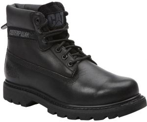 CAT Mens Colorado Leather Oiled Full Grain Black Boots