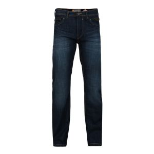 "KAM MENS RELAXED FIT PURE COTTON DARK WASHED SOFT DENIM JEANS ""TANK"" IN WAIST SIZE 40 TO 60 INCHES, INSIDE LEG 30/32/34"