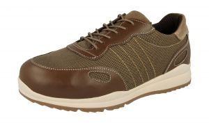 Men'S Casual Shoes (Dawson)6V Wide Fit By Db Shoes in Tan