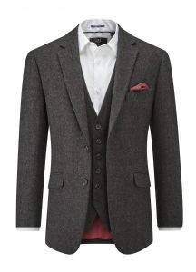SKOPES Mens Heritage Collection Sports Jacket (Swilken) in Charcoal Size 46 To 62
