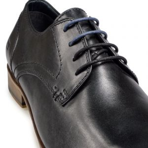 Paul O'Donnell Mens Lace Up Formal Shoe - Boston 2 Black in Size 6XL to 14XL