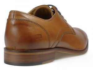 Paul O'Donnell Mens Lace Up Formal Shoe - Boston 2 Tan in Size UK6 to UK14