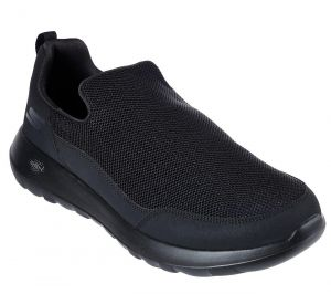 SKECHERS Men's GoWalk Max-Privy Casual Walking Shoes/Trainers in Black