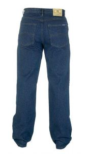 Men's Comfort Fit Enzyme Washed Indigo Jeans By Rockford
