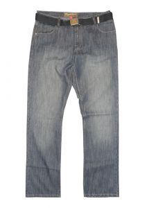 """CARABOU MENS SMART FIT MEDIUM WEIGHT JEANS (RV-9) IN WAIST 32"""" TO 56"""" & L29"""" TO 33"""""""