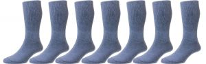 HJ Hall's Men's Diabetic Cotton Socks (HJ1351), Multiple Colour Options