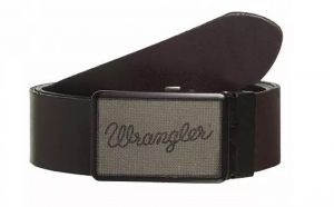 """Wrangler Buckle Cut to Fit Reversible Belt in Black/Brown Leather in Size XS (32"""") to XXXL (46"""")"""