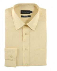 Double Two Mens Classic Cotton Blend Long Sleeved Shirt (3300)
