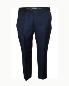 SCOTT Mens Classic Fit Ink Blue Suit Trousers