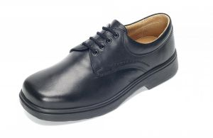 Men'S Casual Shoes (Shannon)6V Wide Fit By Db Shoes in Black