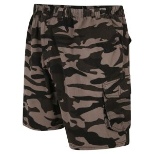 Espionage Mens Big Size Camo Cargo Short (ST053)