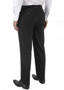 SKOPES Mens Big Size Formal Black Trousers (Cyprus) in Waist 56 to 60 Inches, L31-L37