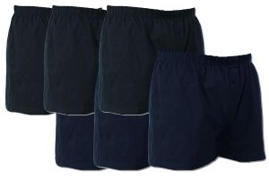 Mens Big Size 6 Pack Button Front Boxer Shorts (U001) By Espionage