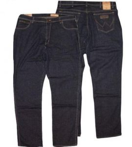 WRANGLER MENS TEXAS STRETCH BLUE WOOD DENIM JEANS IN SIZE 32 TO 48