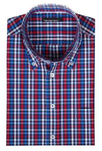 Henderson Cotton Rich Short Sleeve Check Shirts (3355), S-XXL, 2 options
