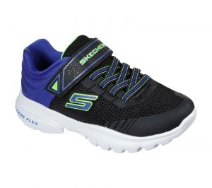 Skechers Razor Flex Mezder Sports Shoes Childrens Sports in  Black Royal