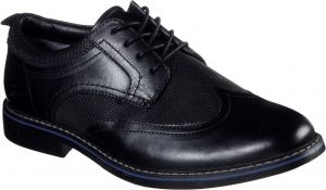 Skechers Bregman Modeso Lace Up Lace Mens Shoes in Black