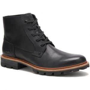CAT Mens Wide Fit Water Proof Full Grain Impermeable Leather Boots (Wayward)