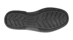 DB's V Fit Single Strap Velcro Touch House Shoes in Black (V Fit) Size UK7 to UK12