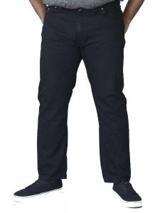 Duke London Mens Kingsize Relaxed Stretch Jeans With Elasticated Waist (BALFOUR)