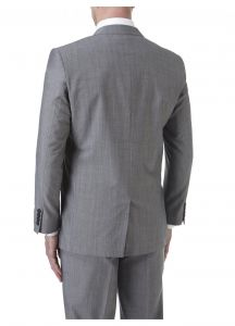 SKOPES Mens Wool Blend Tailored Fit Suit Jacket (Egan) in Light Grey Size 34 To 62, S/R/L